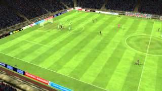 Barcelona mot Betis - Scoring av Rodríguez 10 minutter