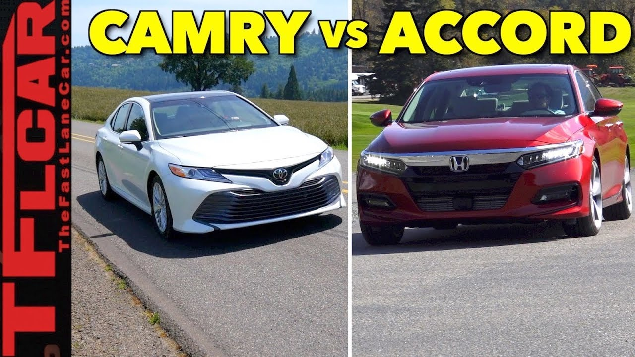 2018 Honda Accord Vs Toyota Camry Review Top 5 Differences You Need To Know