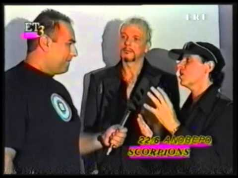 Jammin Greek TV - Scorpions Interview 2000 Moment of Glory Klaus Meine Rudolf Schenker