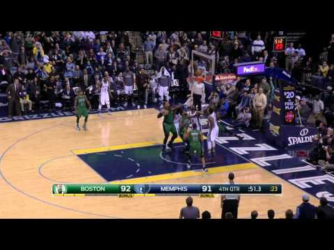 Boston Celtics vs Memphis Grizzlies | January 10, 2016 | NBA 2015-16 Season