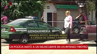 Tiroteo, persecución y muerte en Liniers: un policía mató...