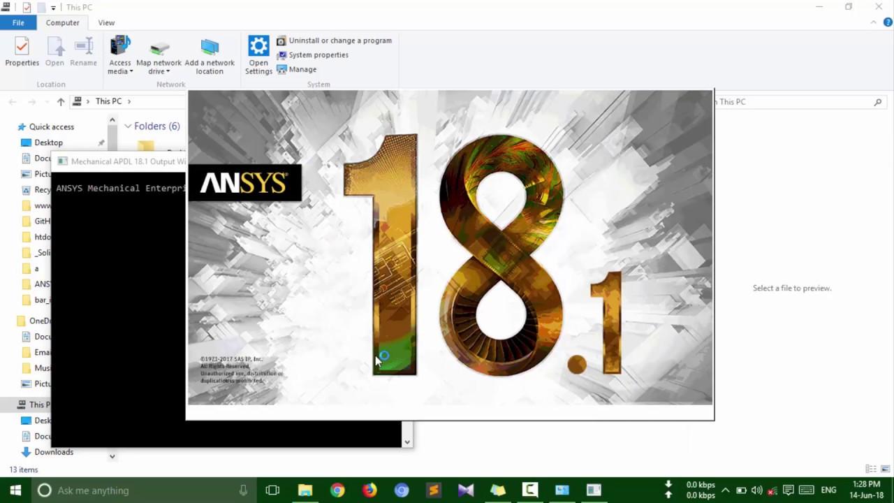 Ansys 18 1 installation procedure