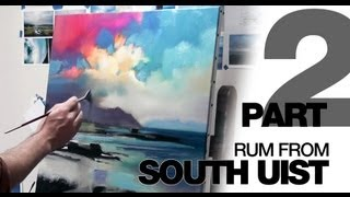 Oil Painting Demo: Rum From South Uist PART 2