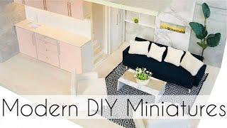 DIY: Modern Miniature Apartment