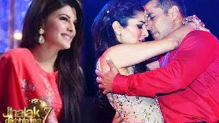 Salman Khan on Jhalak Dikhhla Jaa 7 WOOS Sophie infront of Jacqueline 19th July 2014 Episode