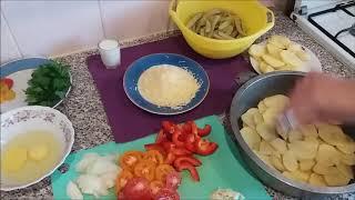 Рецепт запеканки из овощей. Вкусная запеканка со спаржей.