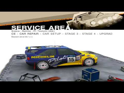 Colin Mcrae Rally 2005 #32 Legends of Rally Championship 2/6