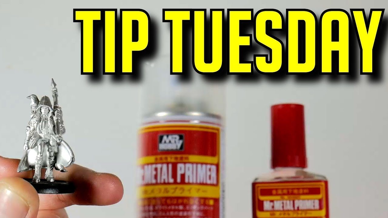 Mr Metal Primer How To Prep Your Metal Parts For Paint Youtube