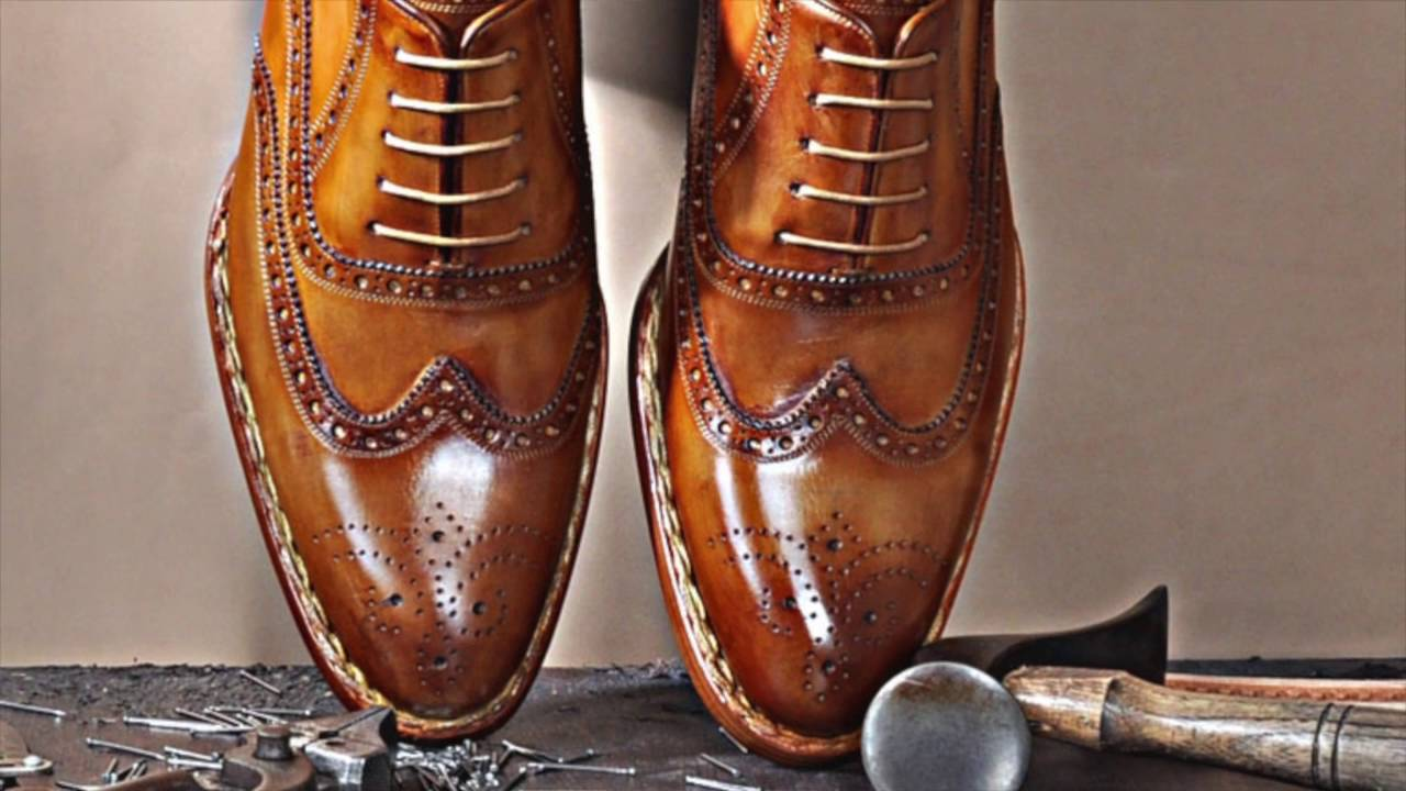 Luxury Handmade Leather Shoes For Men Emillo Santo Youtube - Handmade Boots
