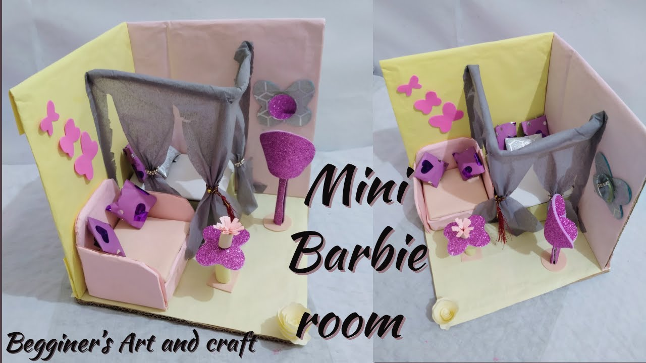 Room decor/Barbie room decorations/home decoration/doll ...