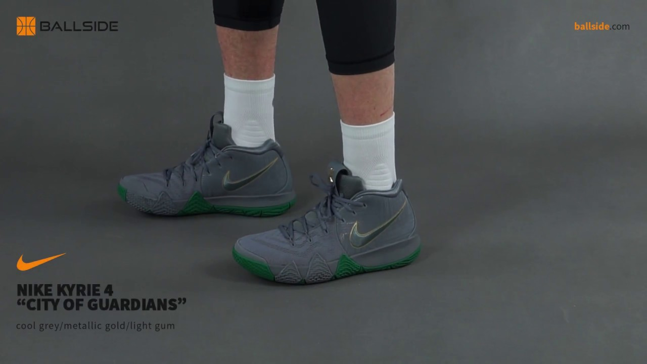 8bc65d4da018 Nike Kyrie 4 City of Guardians on feet - YouTube