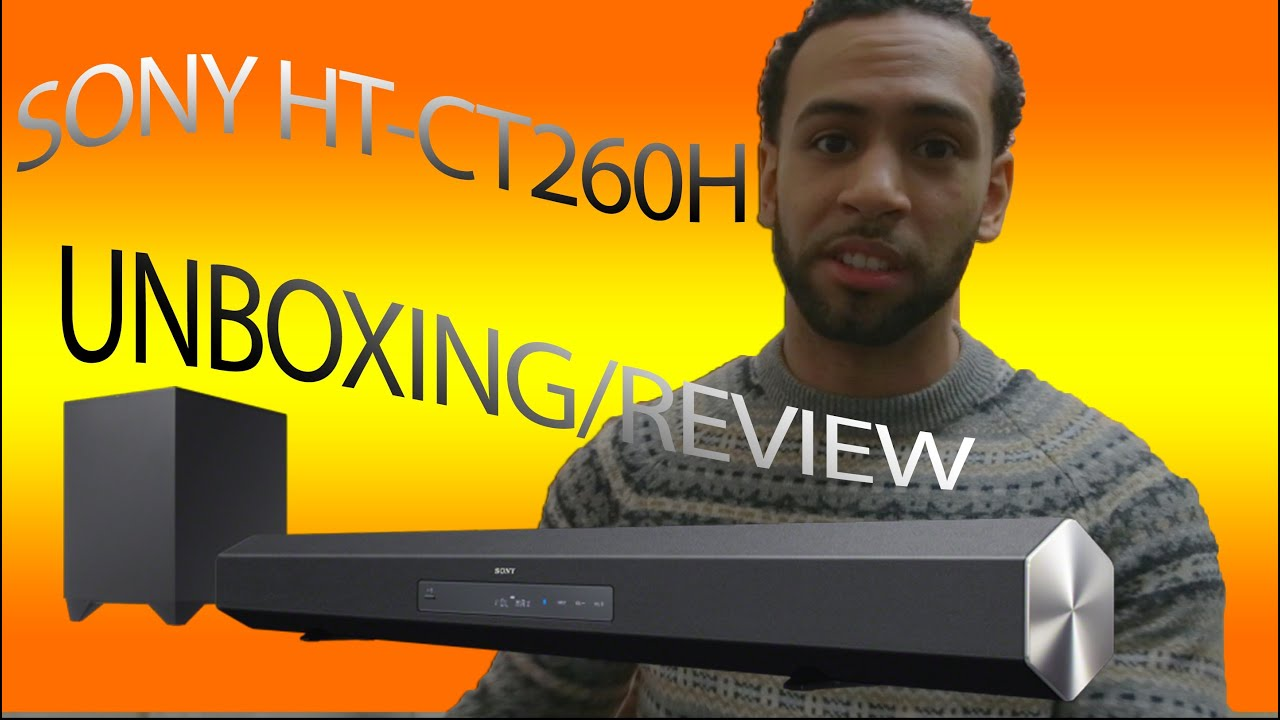 Sony Ht Ct260h Sound Bar Unboxing Review