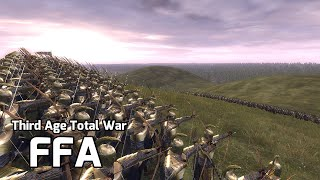 Third Age Total War Online Battle #10 - (FFA Live) - Youtuber Free For All