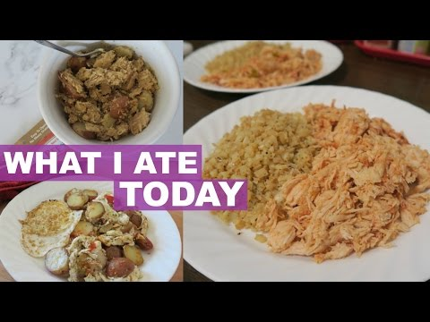 What I Ate Today With Recipes (Whole30, Crockpot, Gluten-free)