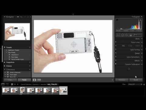 Using A Grey Card With Lightroom 3