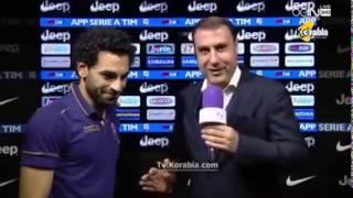 محمد صلاح يضع قناة  الجزيرة الرياضية بي ان سبورت فى موقف محرج بعد مباراته أمام يوفنتوس   YouTube