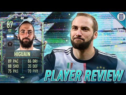 EL PIPITA! 87 FLASHBACK HIGUAIN PLAYER REVIEW! FLASHBACK HIGUAIN - FIFA 21 ULTIMATE TEAM