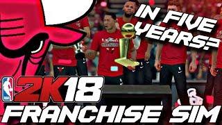 What If Derrick Rose Never Got Hurt? - NBA 2K18 FRANCHISE SIMULATION(2011-2015)