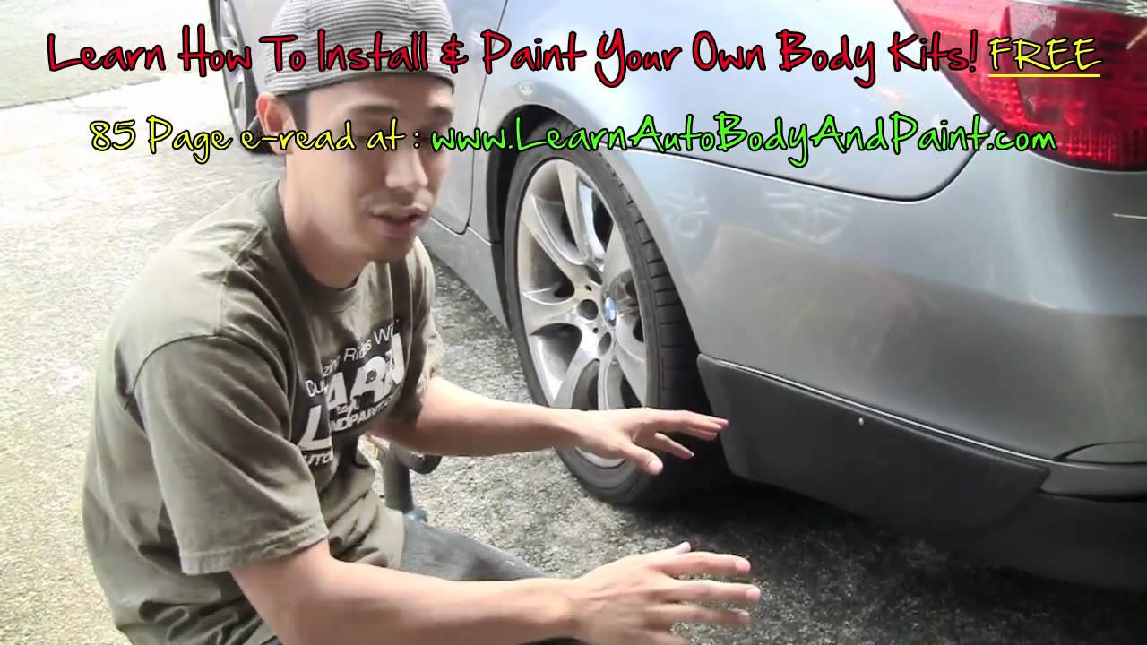 small resolution of how to install your duraflex body kit body kit installation steps install body kit from home youtube