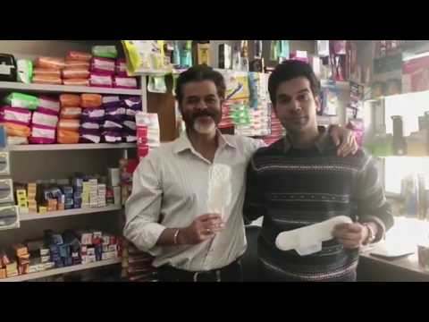 Padman - Sanitary Pad Publicity | Anil Kapoor and Rajkumar Rao in Chemist Shop | S- item 2018