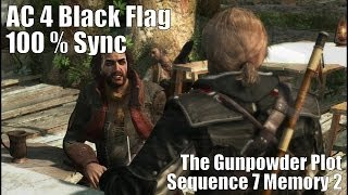 The Gunpowder Plot : Sequence 7 Memory 2 - AC 4 Black Flag (1080p, HD)