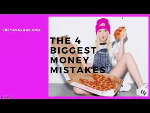 4 Biggest Money Mistakes- Bonus Masterclass