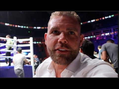 'MAKE ME AN OFFER THEN' - BILLY JOE SAUNDERS MESSAGE TO HEARN -ON OFFER TURNED DOWN FOR CALLUM SMITH