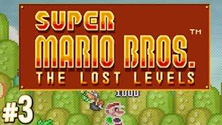 Super Mario Bros.: The Lost Levels - Big Fire Bars! | PART 3