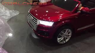 Características Coche eléctrico para niños Audi Q7 12v - En  indalchess