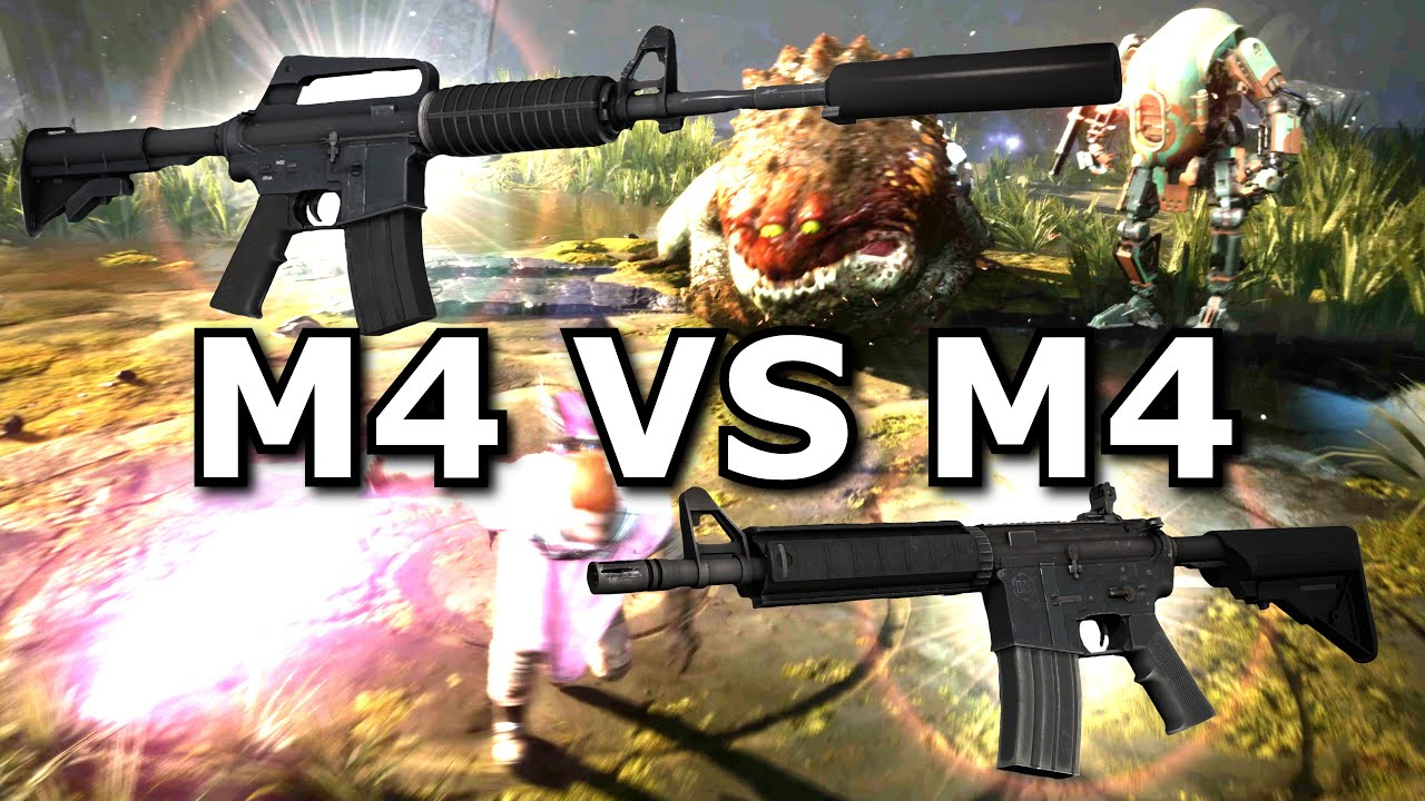Is the M4A1-S better than the M4A4 now?