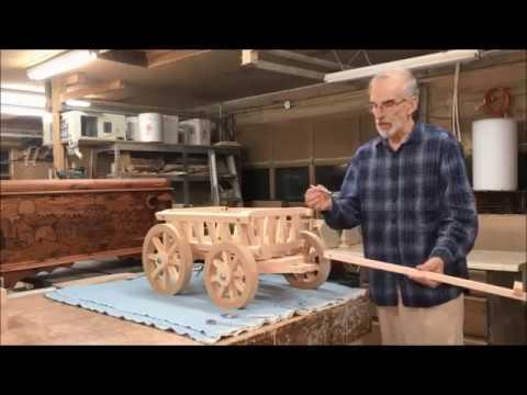 Pumpkin Wagon Assembly Mini Wedding Wagons