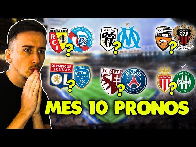 Pronostic foot LIGUE 1 : Mes 10 pronostics (Ligue 1) *avec des surprises*