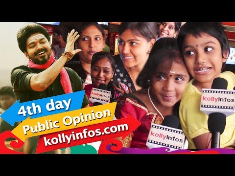 GST Controversy l Day 4 - Mersal Movie Public Opinion | Public Review | Vijay | A R Rahman | Atlee
