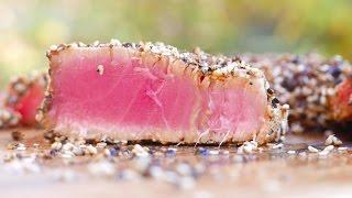 Tuna Steak Recipe - Best Way to Grill