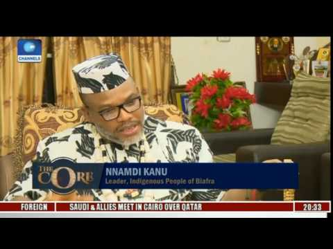 Nnamdi kanu Speaks On Agitations For Biafra