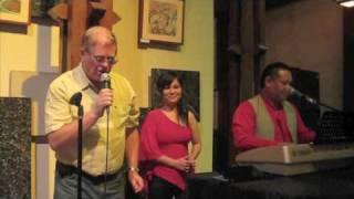 1070. Bengawan Solo (Gesang Martohartono) - live at The Hyatt, Kota Kinabalu, with Azlan Ag Tuah