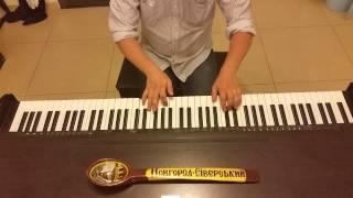 Жанна Агузарова  Желтые ботинки (Рок хоп чоп чоп) пианино кавер