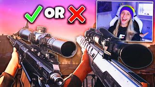 HDR VS AX50 ... WHICH IS THE BEST SNIPER!? (i just rly wanted to snipe hehe) (MW)
