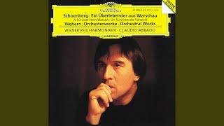 Webern: Passacaglia for Orchestra op.1 - Sehr mässig - Mässig bewegt - Sehr lebhaft