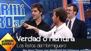 Joaquín Reyes y Ernesto Sevilla juegan a la cabina de la mentira - El Hormiguero 3.0