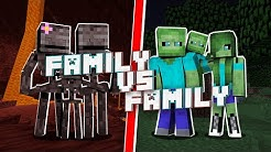 FAMILY VS FAMILY - WHO IS THE STRONGEST MONSTER - MONSTER SCHOOL