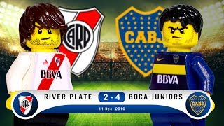 LEGO River Plate 2 - 4 Boca Juniors 2016 / 2017