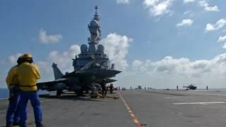جيش من الطباخين على حاملة الطائرات الفرنسية شارل ديغول