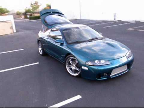 98 Mitsubishi Eclipse Walk Around Demo Youtube