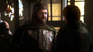 Catelyn Stark seizes Tyrion Lannister - Game of Thrones 1x04 (HD)