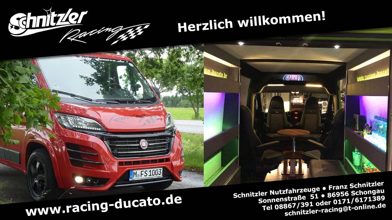 racing ducato schnitzler tuning youtube. Black Bedroom Furniture Sets. Home Design Ideas