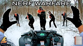 NERF WINTER WARFARE | First Person Shooter!