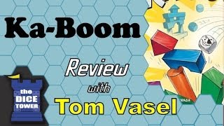 Ka-Boom Review - with Tom Vasel