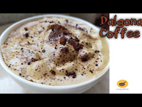 #Frothy_Dalgona_Coffee How to Make Dalgona Coffee | Dalgona Coffee Recipe | Whipped Coffee at home
