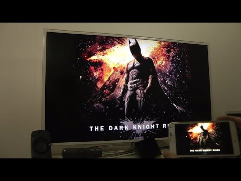 The Dark Knight Rises Samsung Galaxy S5 SMART TV HD Gameplay Test